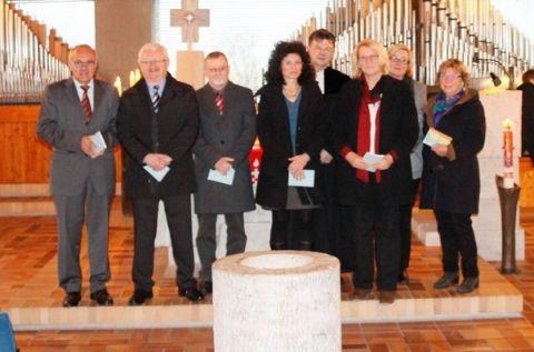 Mitglieder des Kirchenvorstandes